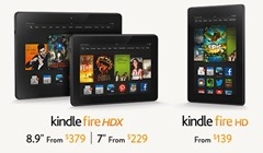 Kindle Fire HDX announced