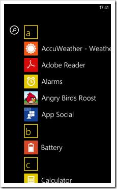 App List