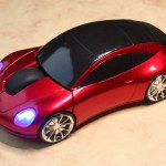 The increasingly popular car shaped mouse