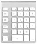NewerTech Wireless Aluminum Keypad small