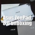 Asus ZenPad 8.0 unboxing