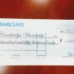 LYCAHEALTH DONATES £150,000 TO CAMBRIDGE UNIVERSITY