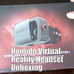 Homido Virtual Reality 3D Wireless Headset Glasses for Smartphones Unboxing