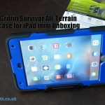 Griffin Survivor All-Terrain case for iPad mini Unboxing