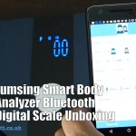 Lumsing Smart Body Analyzer Bluetooth Digital Scale Unboxing