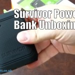 Survivor Power Bank Unboxing