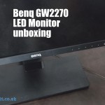 Benq GW2270 LED Monitor unboxing