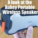 A look at the Aukey Portable Wireless Speaker