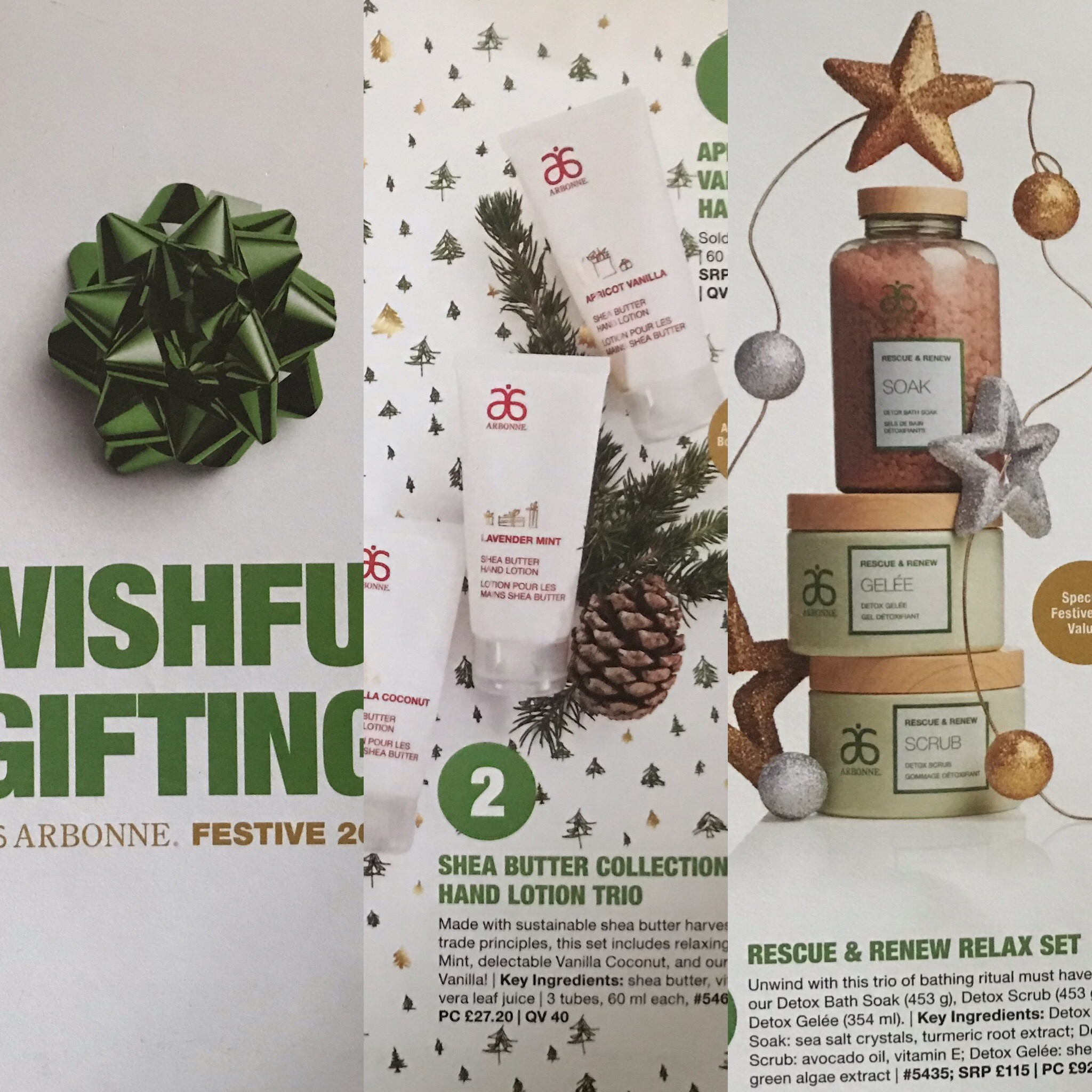Gifting with Arbonne