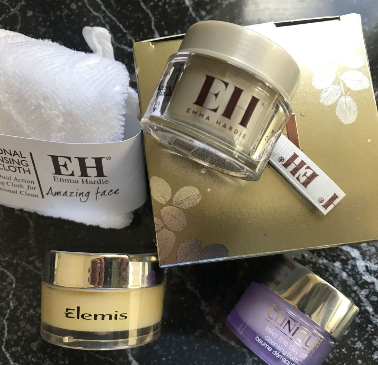 Cleansing Balms and face cloth