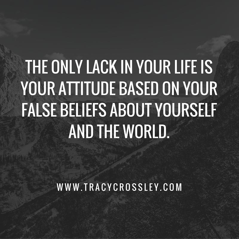 lack in attitude