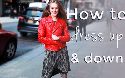 How to dress up and down for women over 40 – spring style