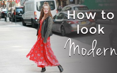 How to look modern for women over 40 – spring style