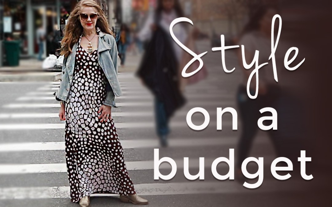 Style on a budget for women over 40