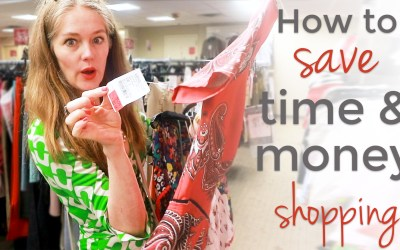 How to save time and money buying clothes