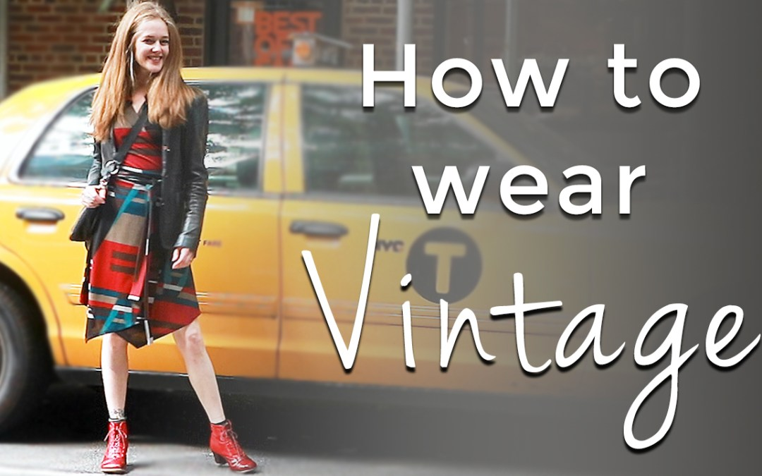 Fall trends for women over 40 - How to wear vintage for women over 40