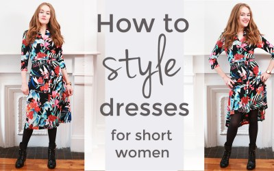How to style dresses for short women