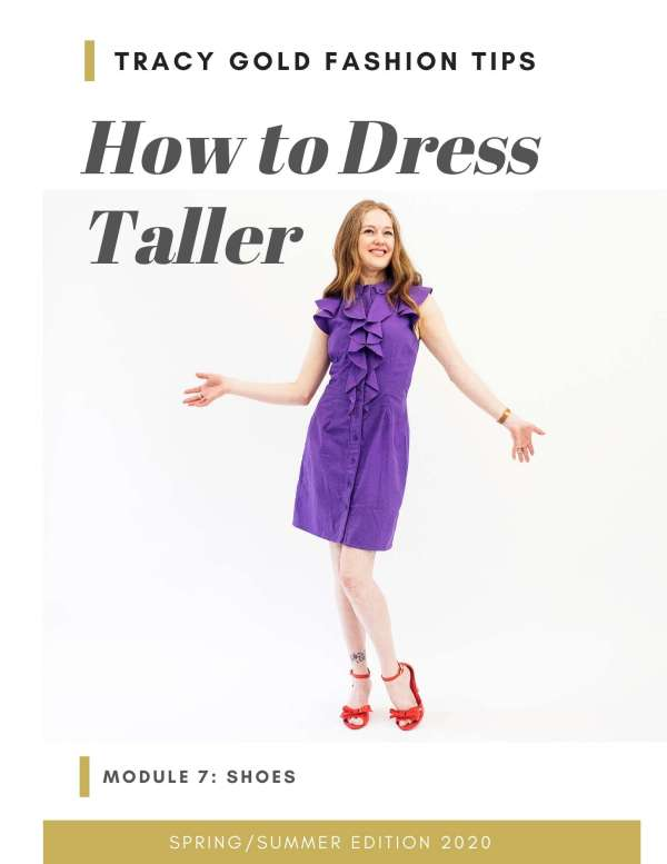 How to dress taller online course