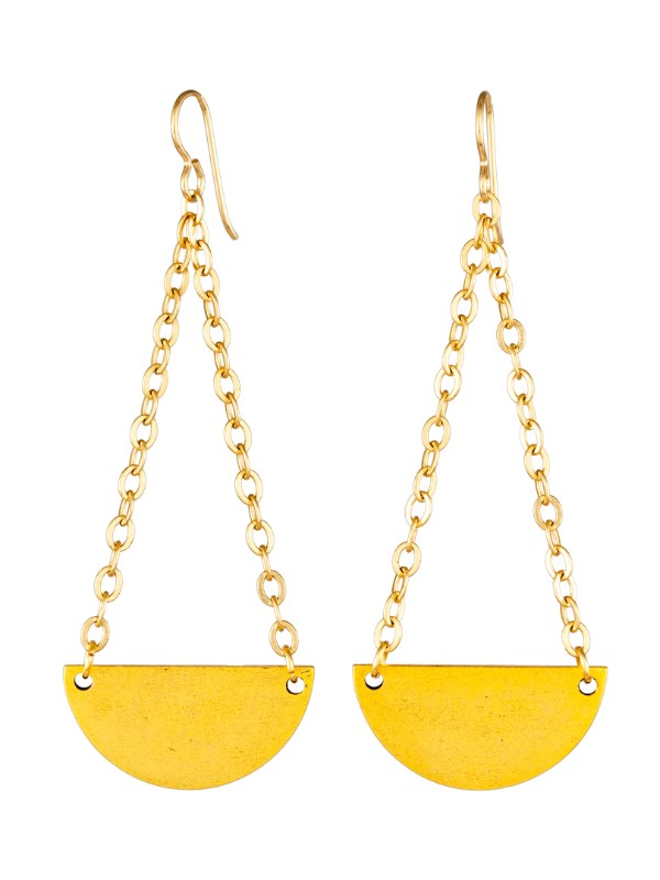 Tracy Gold Curated Illuminated Me Swinging Earrings