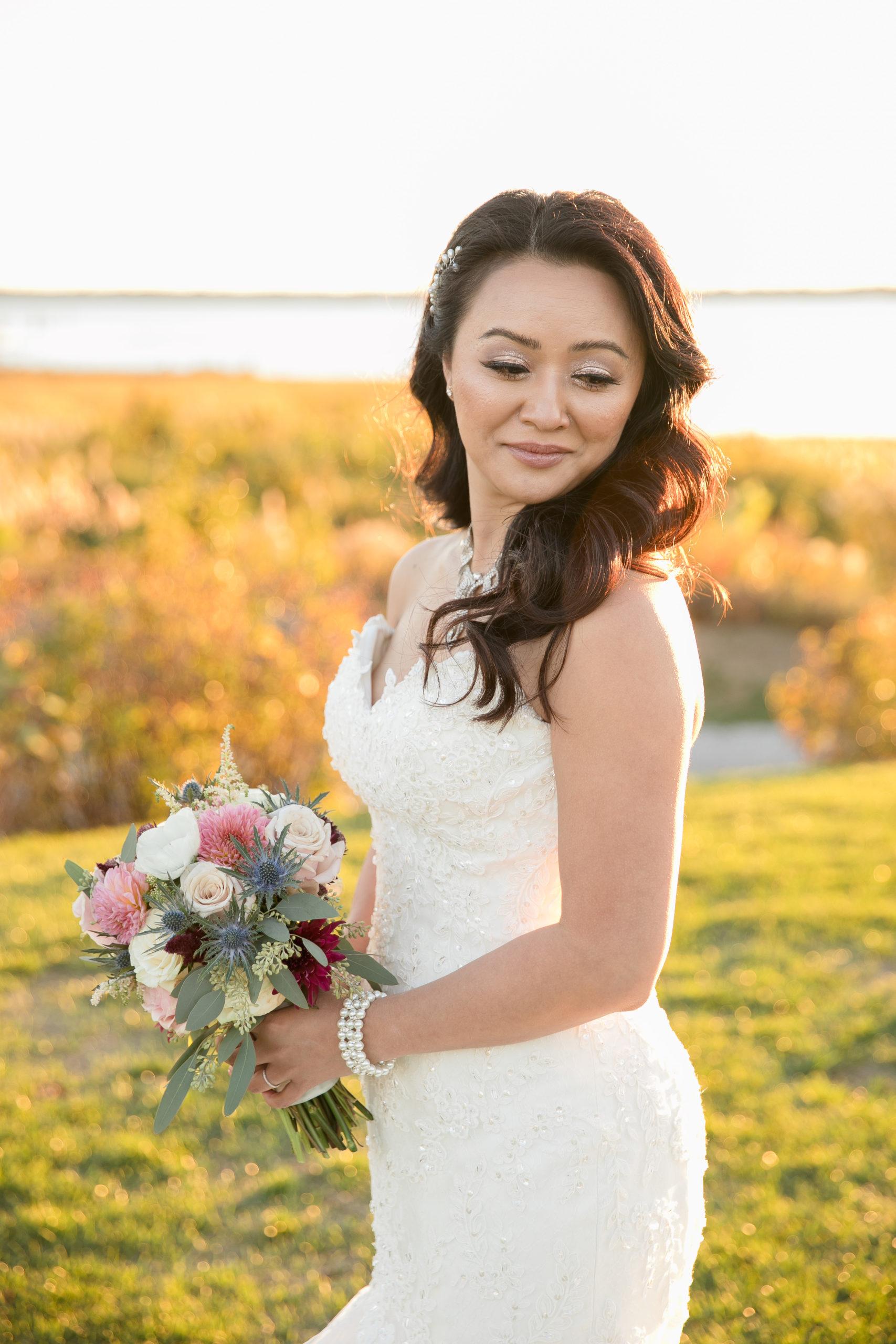 Harbor lights, warwick, rhode island, RI, Tracy Jenkins Photography, RI wedding photographer, Rhode Island wedding photographer, micro-wedding, bride, bridal portrait