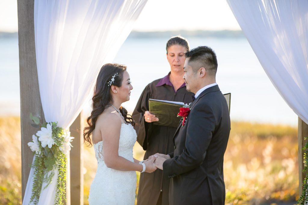 Harbor lights, warwick, rhode island, RI, Tracy Jenkins Photography, RI wedding photographer, Rhode Island wedding photographer, micro-wedding, wedding ceremony, bride groom
