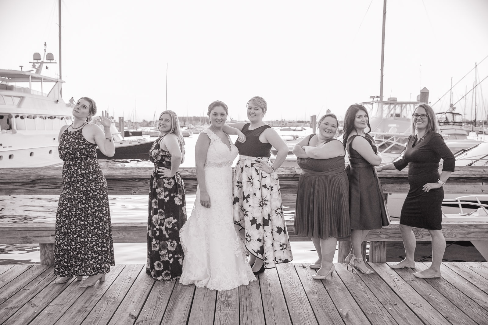 Newport Harbor Hotel, Newport harbor hotel and Marina, Newport, rhode island, beach wedding, harbor wedding, coastal wedding, wedding, Tracy jenkins photography, RI wedding photographer, Rhode Island wedding photographer, girls, bridal party