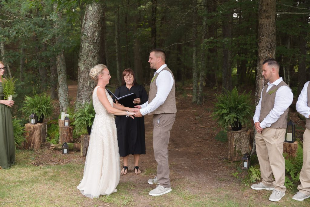 Coventry, Rhode Island, RI, Backyard Wedding, forest, earthy, wedding, tracy jenkins photography, wedding photographer, ri wedding photographer, Rhode Island Wedding photographer, wedding ceremony, wedding in the woods
