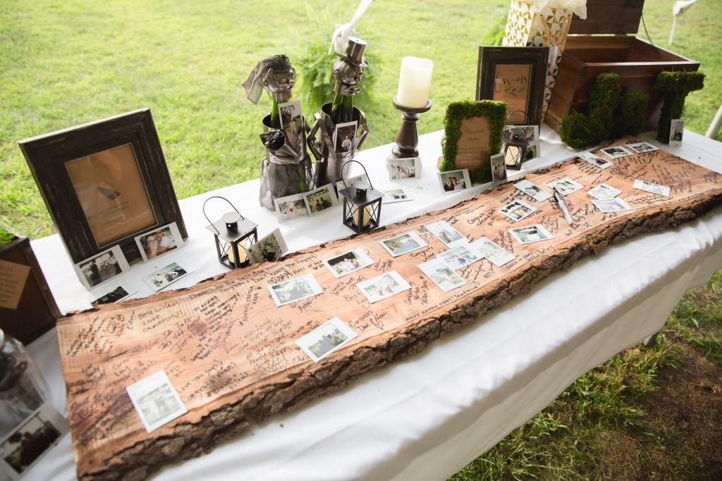 Coventry, Rhode Island, RI, Backyard Wedding, forest, earthy, wedding, tracy jenkins photography, wedding photographer, ri wedding photographer, Rhode Island Wedding photographer, wedding details, guest book