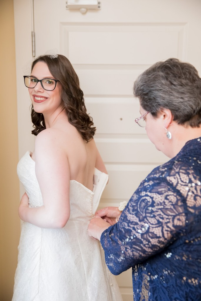 mom buttoning the dress, getting ready, wedding, bride, tracy jenkins photography, publick house, Massachusetts, new england,  photography