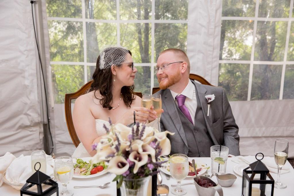 couple toasts, reception, wedding, tracy jenkins photography, publick house, Massachusetts, new england,  photography