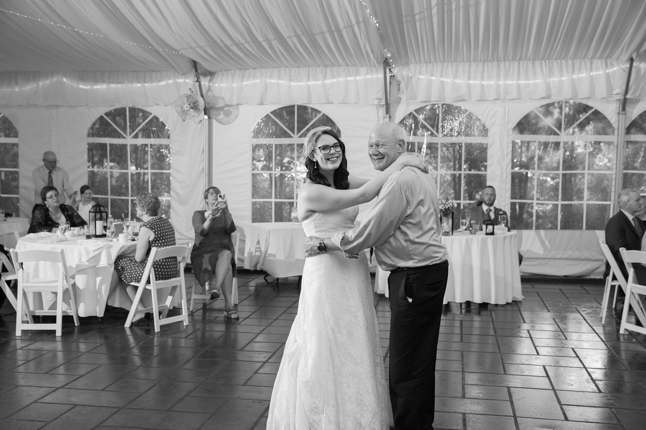 father daughter dance, reception, wedding, tracy jenkins photography, publick house, Massachusetts, new england,  photography