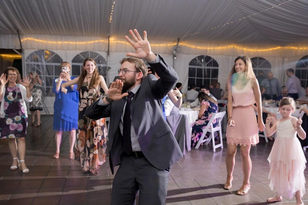 dancing man, reception, wedding, tracy jenkins photography, publick house, Massachusetts, new england,  photography