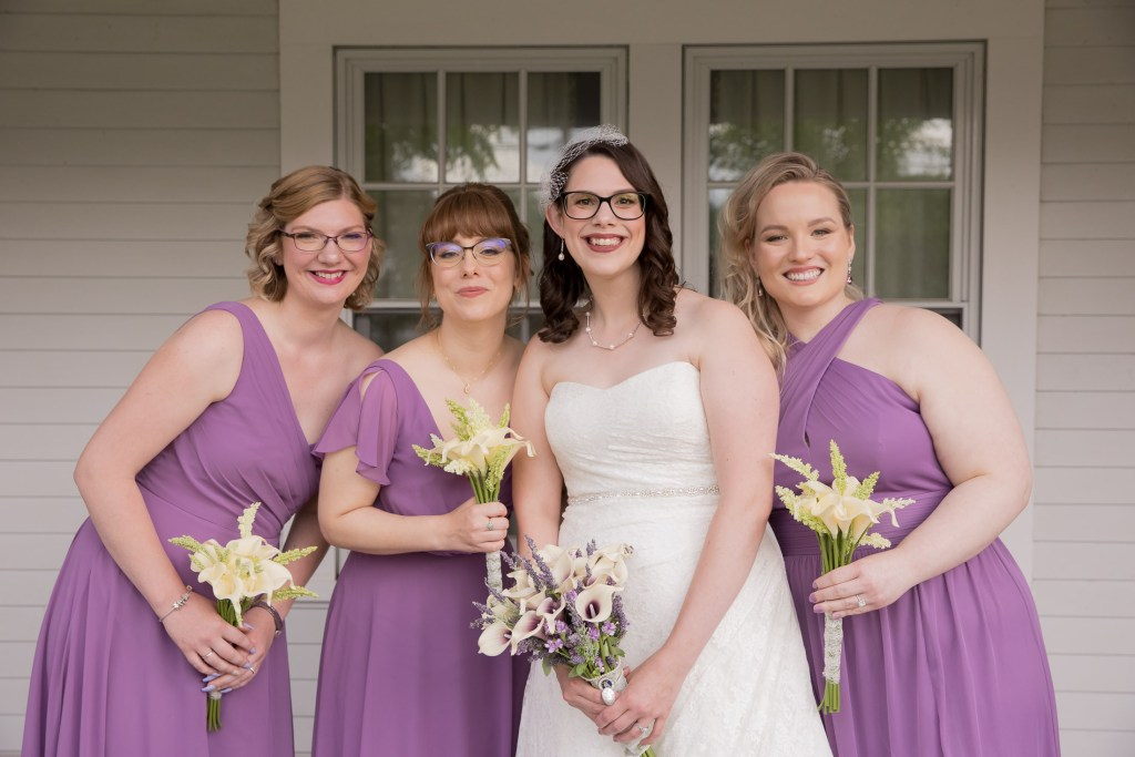 library, wedding, wedding party, lilac, wisteria, bridesmaids , tracy jenkins photography, publick house, Massachusetts, new england, photography