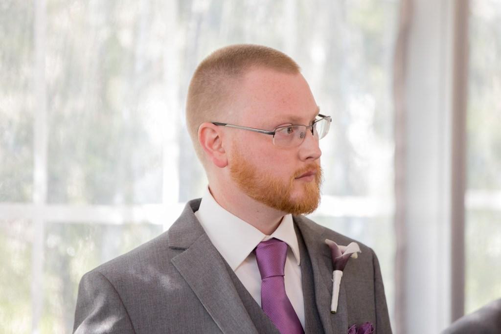 groom, ceremony, wedding, tracy jenkins photography, publick house, Massachusetts, new england,  photography