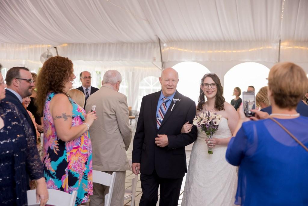 walk down the aisle, ceremony, wedding, tracy jenkins photography, publick house, Massachusetts, new england,  photography
