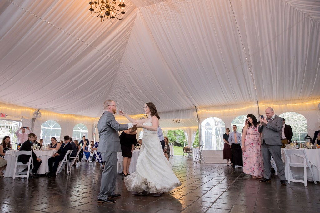 first dance, reception, wedding, tracy jenkins photography, publick house, Massachusetts, new england,  photography