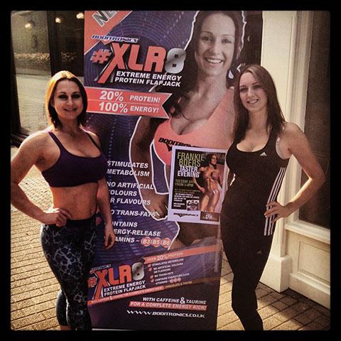 Boditronics Fitness Model Frankie Boers And Tracy Kiss