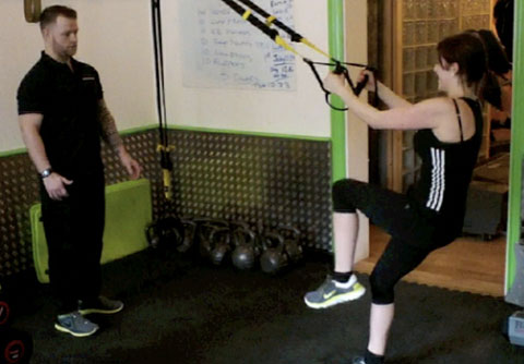 The TRX Workout Was Great Fun