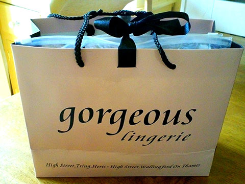 Today I Received The Hospital Bra By Gorgeous Lingerie