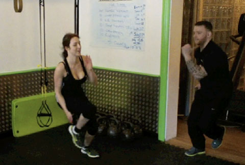 Tom Put Me To The Test With Some High Intensity Interval Training