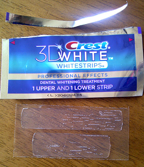Crest 3d Whitestrips Professional Effects Review