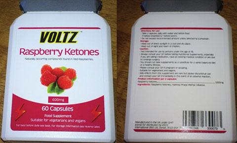 Voltz Rapsberry Ketones Are Suitable For Vegetarians