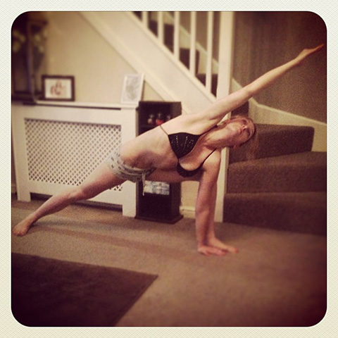 P90X Extended Triangle