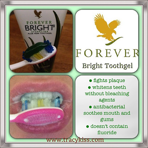 My Blog Is Used To Advertise Forever Living Bright Toothgel