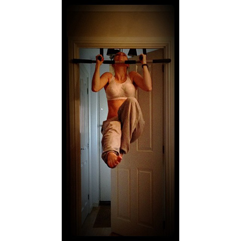 P90X3 Pull Up With Leg Extension