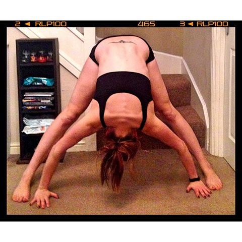 P90X3 Wide Front Bend