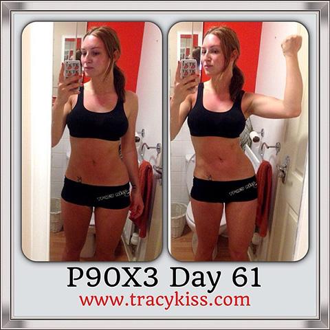 P90X3 Day 61 Triometrics
