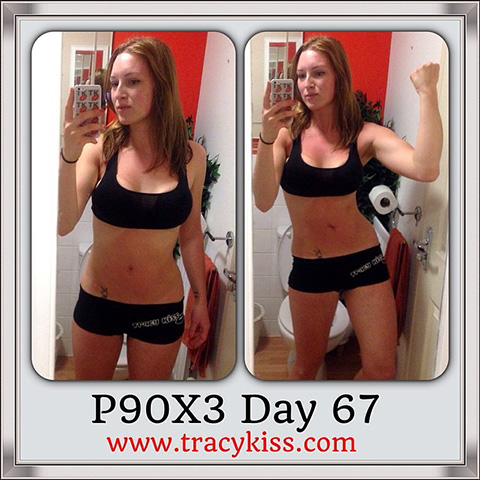 P90X3 Day 67 Triometrics