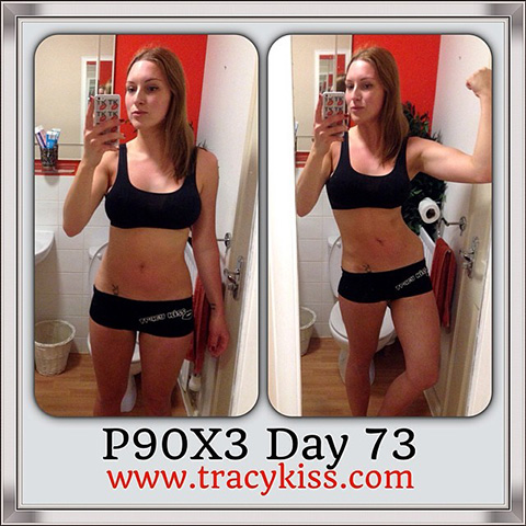 P90X3 Day 73 The Challenge