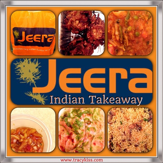 My Vegetarian Curry takeaway From Jeera